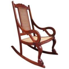 Rocking Chair Cane Mesh Patio Chairs 23 For Sale At 1stdibs Early 19th Century Caribbean Regency Mahogany And