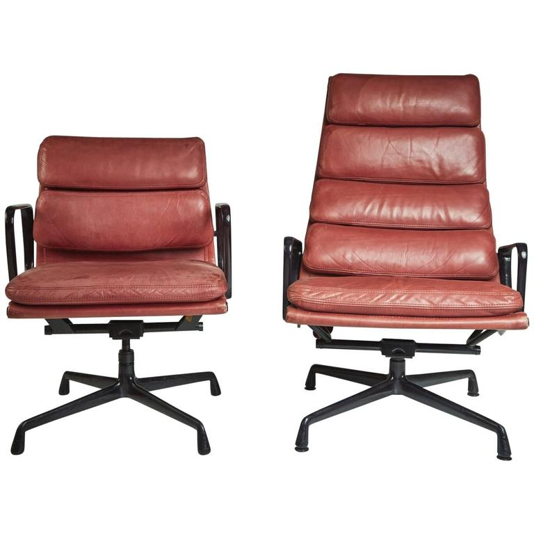 Soft Pad Management and Executive Desk Chairs by Charles