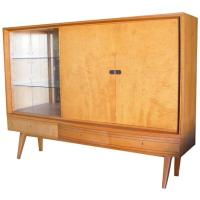 Vintage German Mid-Century Cabinet German Shrunk at 1stdibs