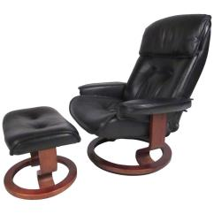 Modern Leather Recliner Swivel Chair Wheelchair Harness Danish For Sale At 1stdibs