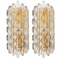 Carl Fagerlund Glass Sconces For Sale at 1stdibs