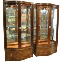 "Thomasville Bogart Collection ""Bel Air"" Mahogany Curio ..."