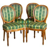 High Quality Chairs in the Louis Seize Style For Sale at ...