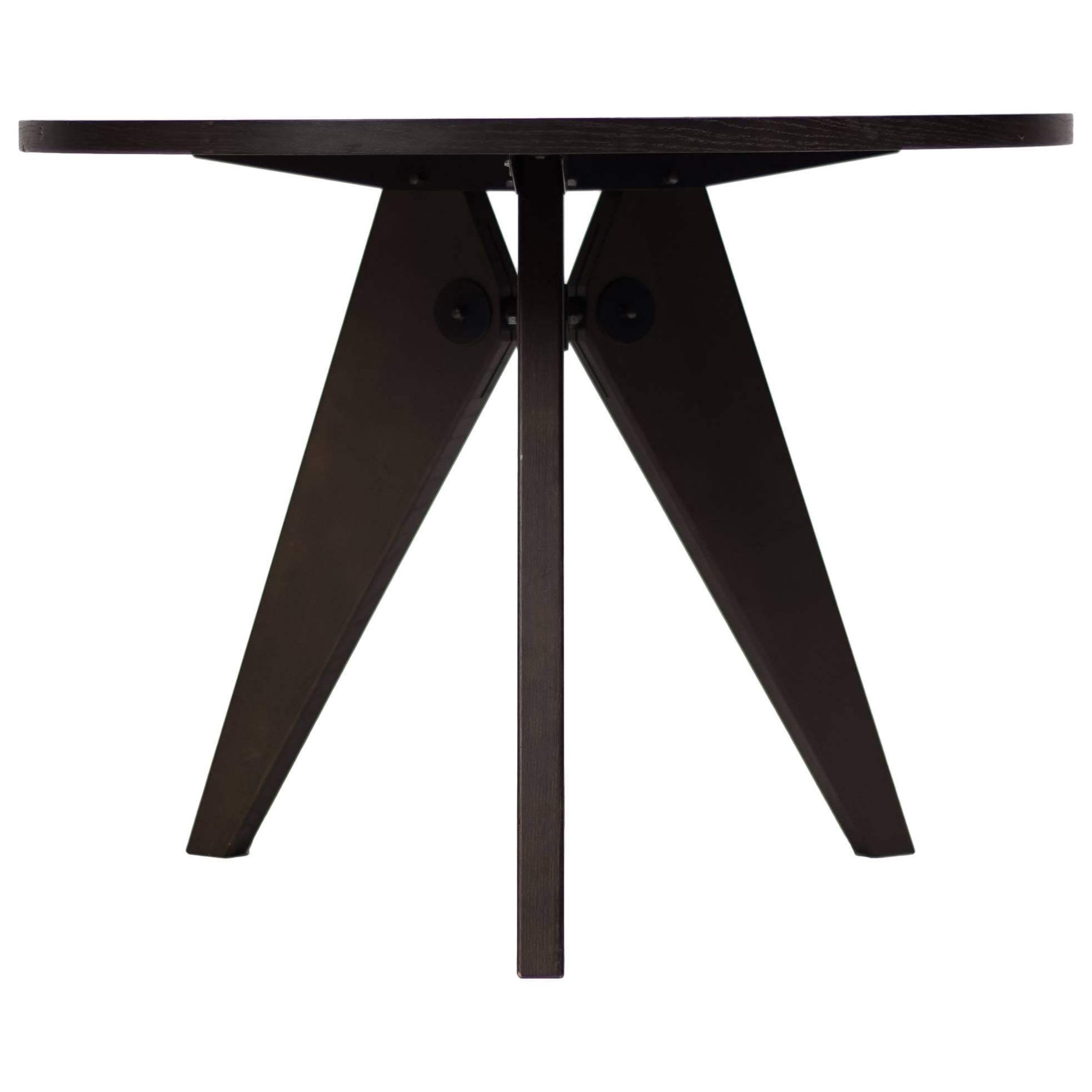 beautiful jean prouv guridon dining table by vitra with