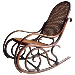 Rocking Chair Cane Graco Blue Owl High Antique Thonet Bentwood Rocker Victorian 19th Century At For Sale
