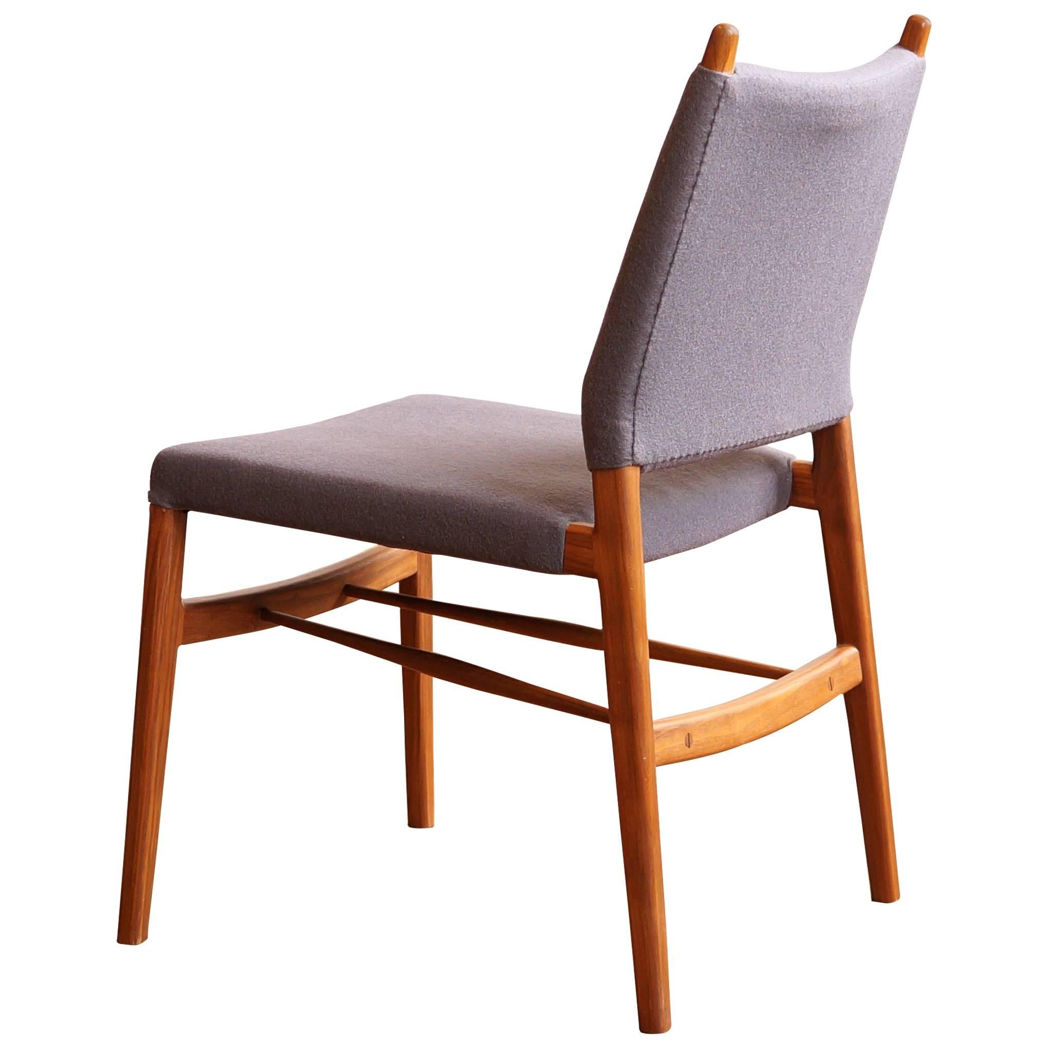 Walnut Dining Chair C03 Solid Walnut Dining Chair With Leather Seat By Jason Lewis Furniture