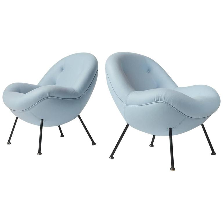 egg chairs for sale gmc yukon captains pair of fritz neth at 1stdibs
