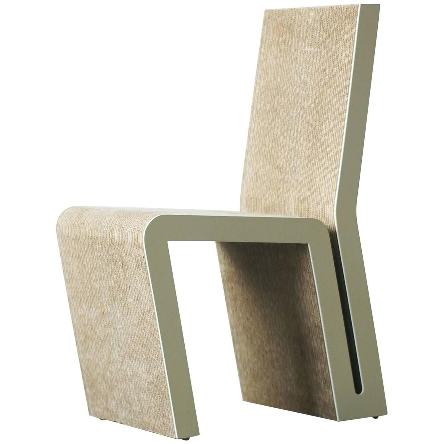 frank gehry cardboard chairs predator hunting easy edges side chair by for sale at 1stdibs vitra