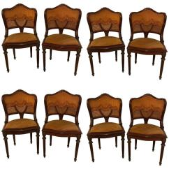 Eames Style Lounge Chair And Ottoman Rosewood Black Leather Tot Spot Folding Set Of Eight Louis Xvi Bronze-mounted Dining Chairs At 1stdibs