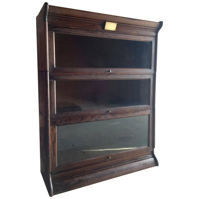 Beautiful Globe Wernicke Bookcase Early 20th Century At
