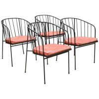 Mid-Century George Nelson for Arbuck Iron Rod Outdoor Set ...