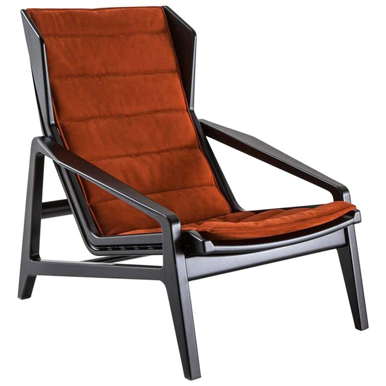 gio ponti chair nice bean bag chairs molteni d 156 3 armchair for sale at 1stdibs