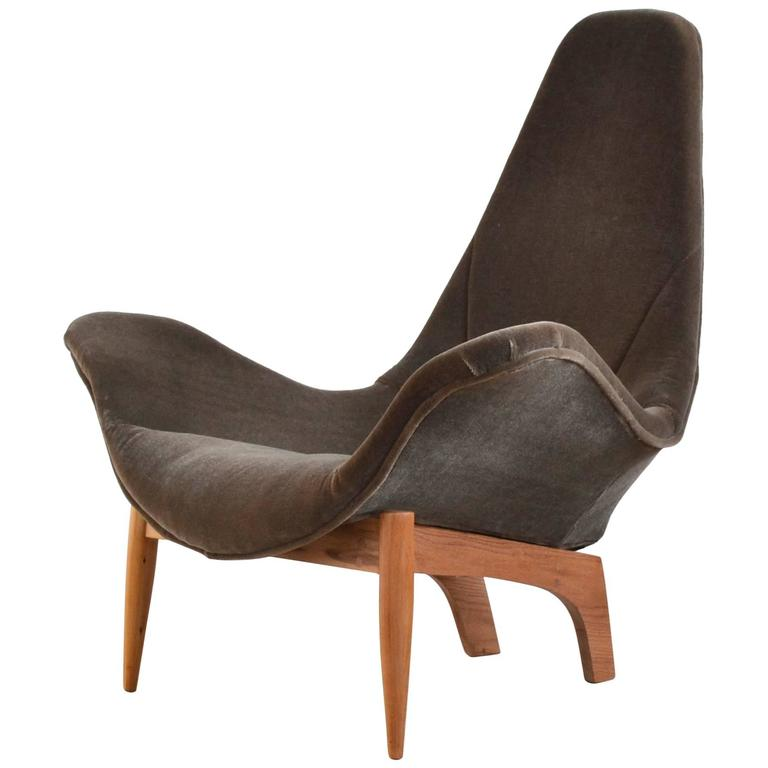 Adrian Pearsall Sculptural Lounge Chair at 1stdibs