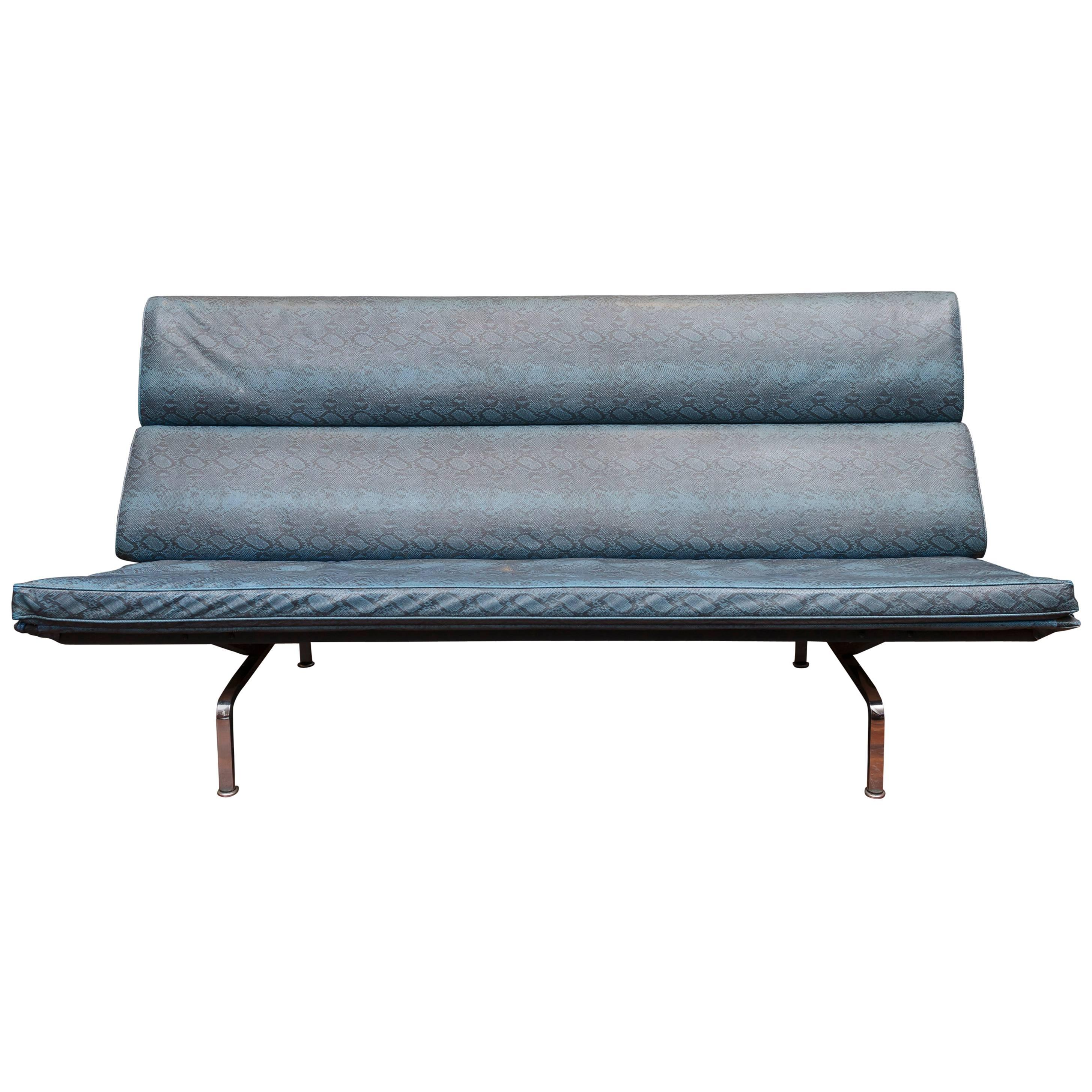 eames sofa compact ismi faux suede bed for herman miller sale at 1stdibs