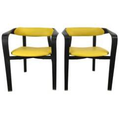 Folding Rocking Chairs At Sam S Dorel Chair Pair Of Modernist Slatted By Telescope Co. 1stdibs