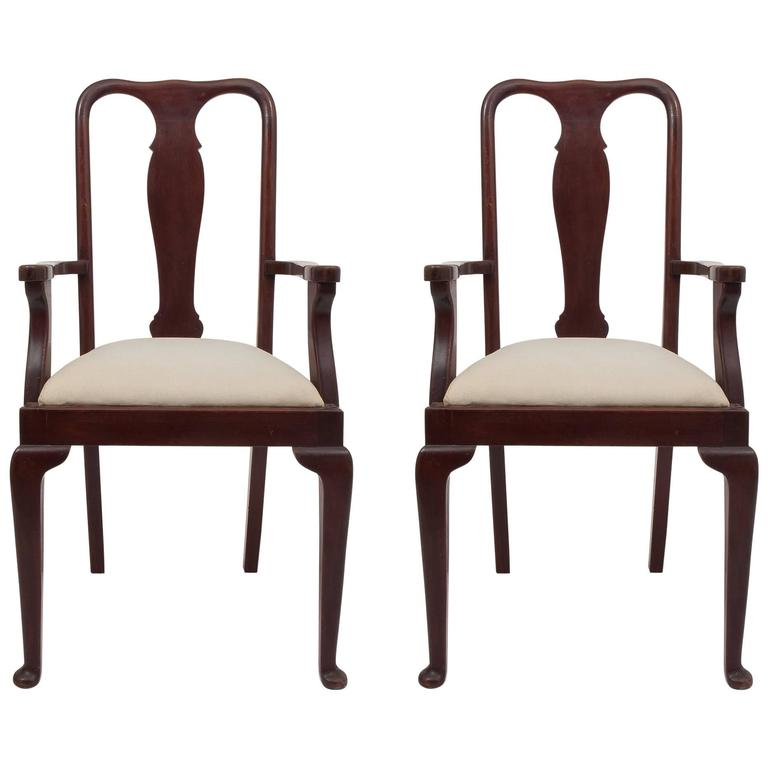 high chairs on sale silver chair narnia cast pair of old english dining for at 1stdibs