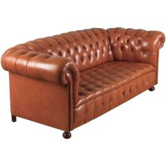 Chesterfield Sofa London Second Hand Marshmallow Furniture Flip Open Canada Sofas 55 For Sale At 1stdibs Vintage English Leather 1960s