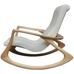 Vladimir Kagan Rocking Chair White Round Table 6 Chairs Contour Rare Oak 1960s At 1stdibs Erica With Maple Frame Circa