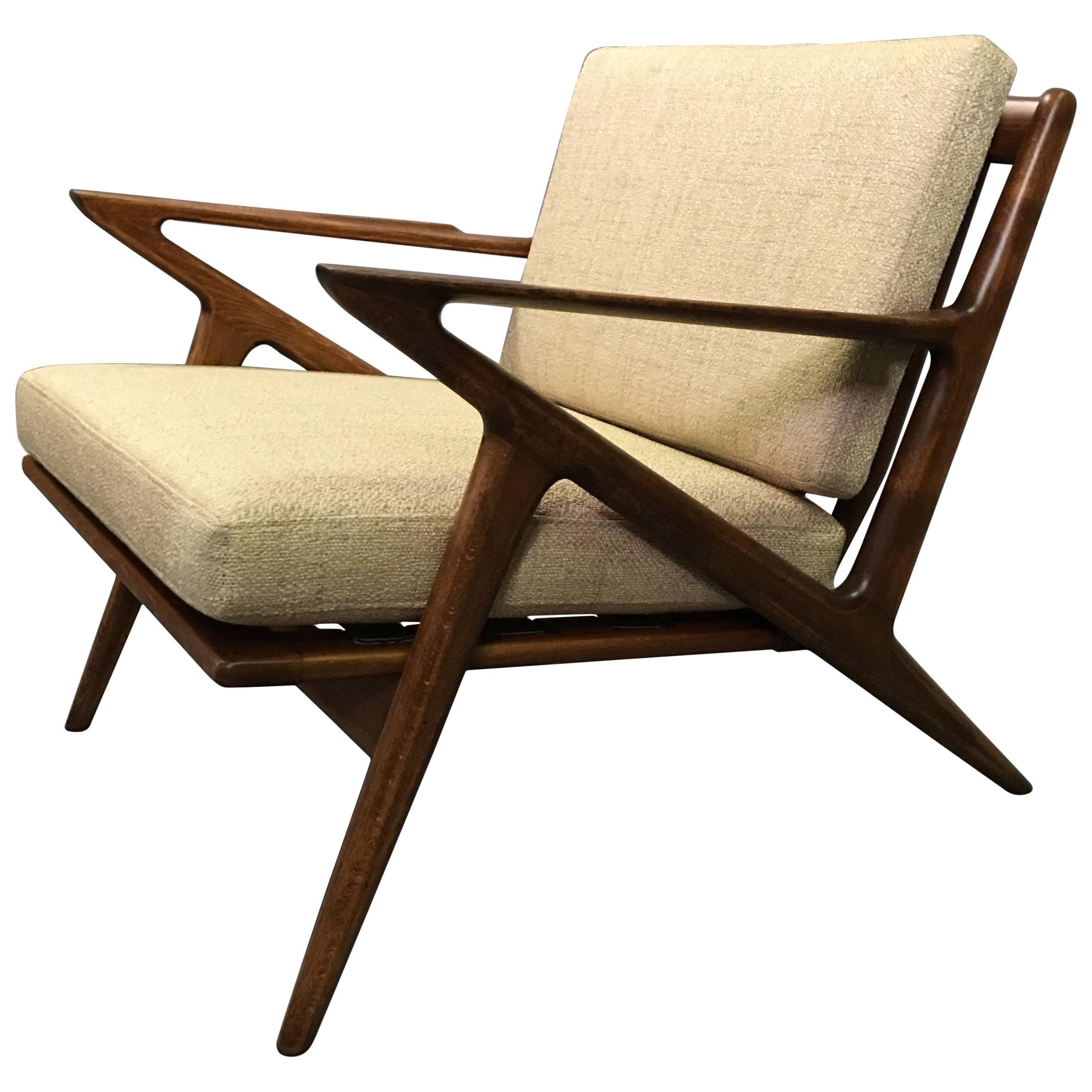 z chair mid century sure fit covers canada modern by poul jensen for selig sale at 1stdibs