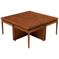 Mid Century Drexel Declaration Coffee Table with Nesting ...