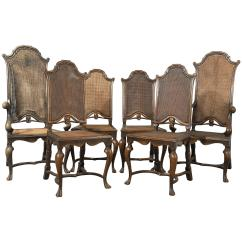 Liberty Dining Chairs Swivel Chair Price In Bd Set Of Six Antique London Walnut Cane Circa 1880 At 1stdibs