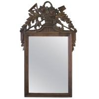 Early 20th Century Carved French Country Style Mirror For
