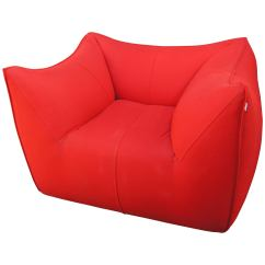 Red Lounge Chair Rocking Chairs Walmart Bambola By Mario Bellini For B Italia Sale At
