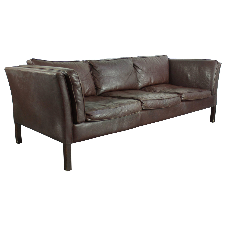 dux sofa by folke ohlsson best quality slipcovers vintage midcentury danish mogensen style three-seat ...