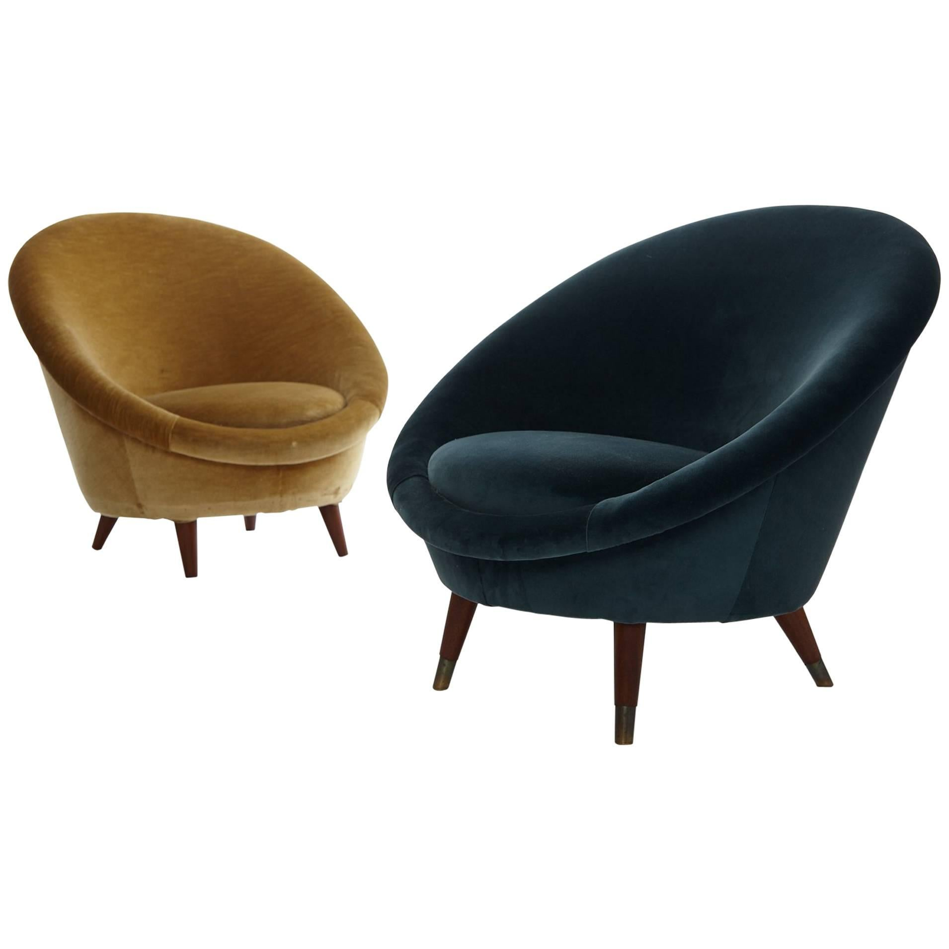 egg chairs for sale sling patio pair of 1950s norwegian at 1stdibs