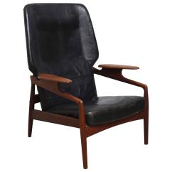 Modern Wingback Chairs For Sale Bin Bags Danish Reclining Lounge Chair At