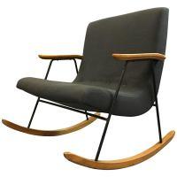 "Mid-Century Modern ""Ozzy"" Rocking Chair by Milo Baughman ..."