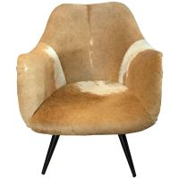 Mid-Century Modern Gio Ponti Spider Leg Swivel Chair with ...
