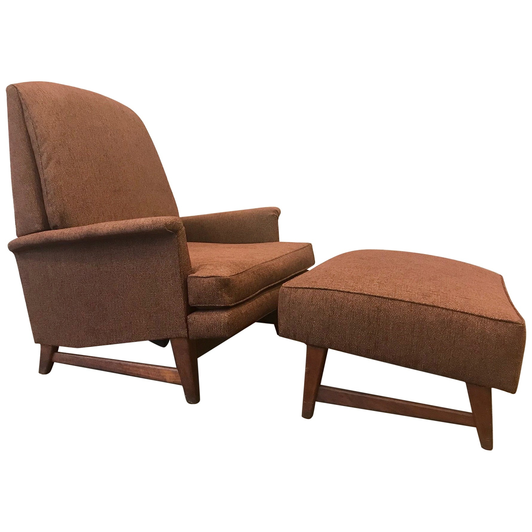 Selig Chair Reclining Lounge Chair And Ottoman By Selig