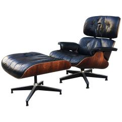 Eames Lounge Chair For Sale Red Accent Chairs Living Room Early 1960s Down Filled Herman Miller And Ottoman
