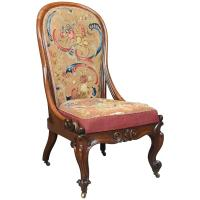needlepoint chair at 1stdibs