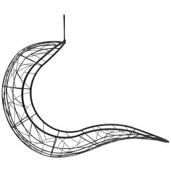 Swing Chair Drawing Bosuns Recliner Single Hanging For Sale At 1stdibs