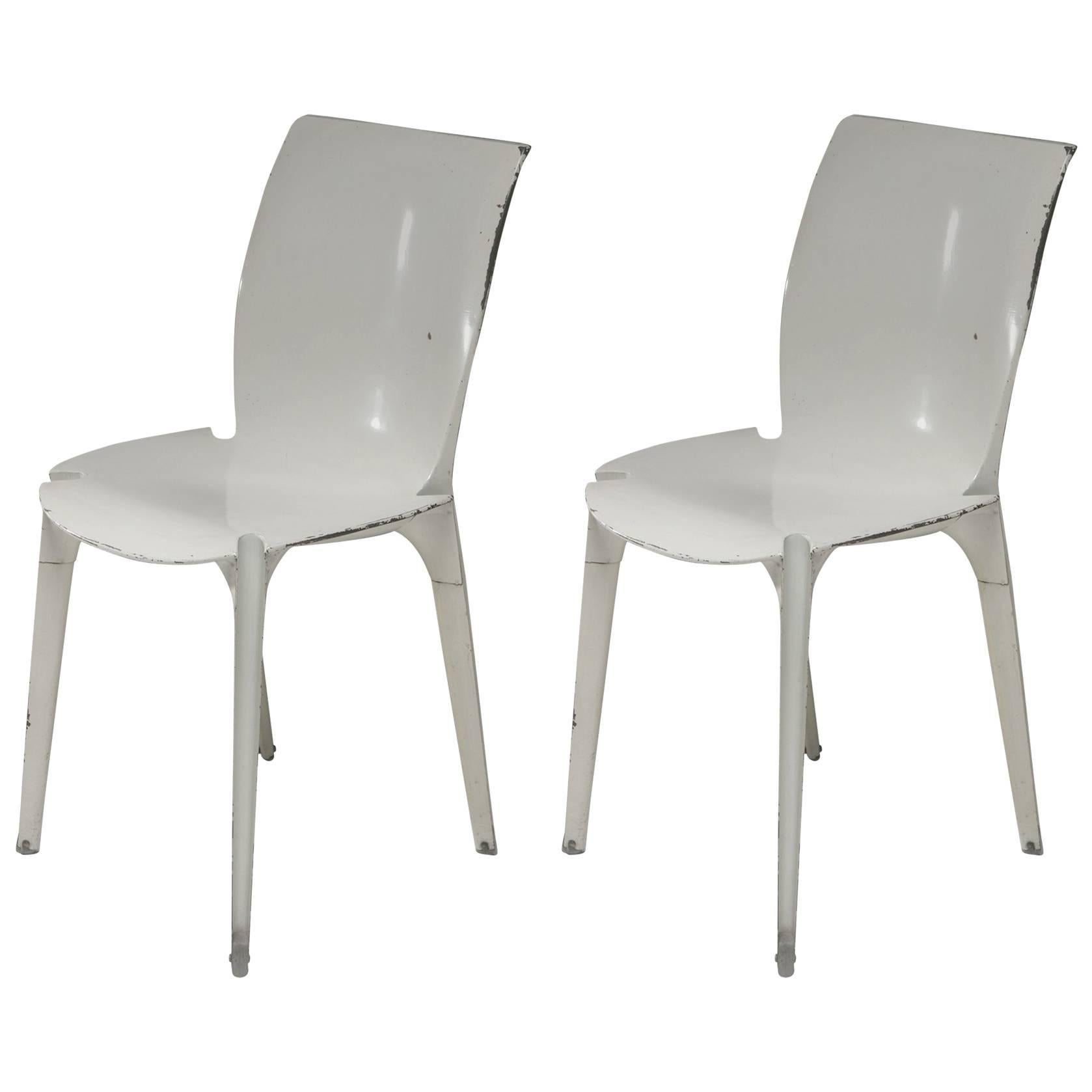 chair design research round cushions pair of lambda chairs by richard sapper and marco zanuso for gavina