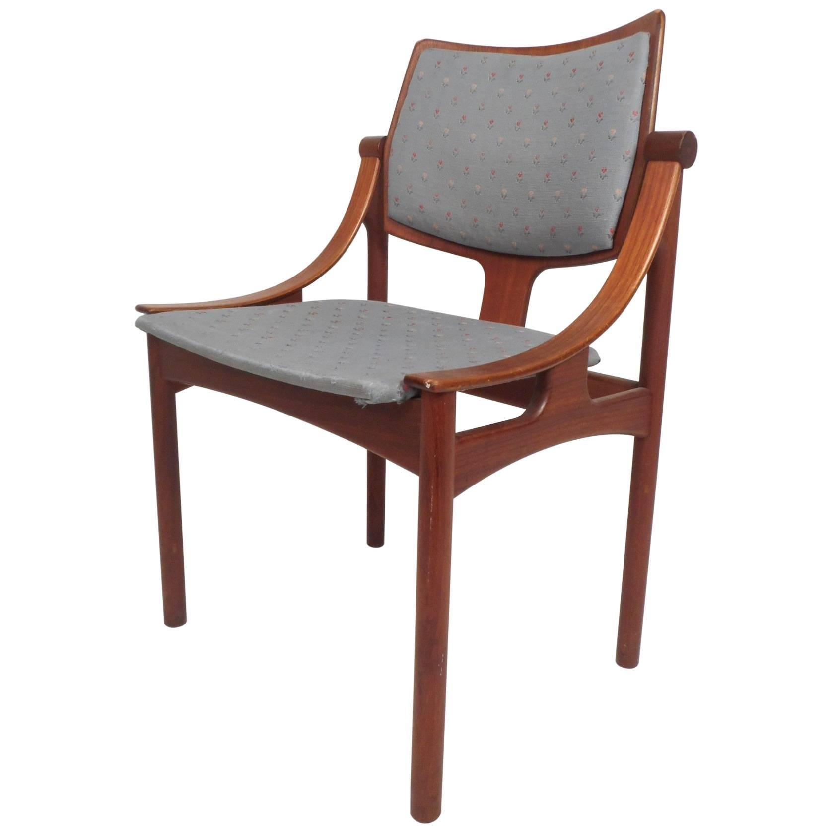 unusual chair legs coaster accent unique mid century modern danish teak desk at 1stdibs