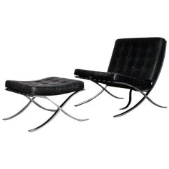 Mies Van Der Rohe Barcelona Chair Cleo Pedicure Parts For Knoll Sale At 1stdibs
