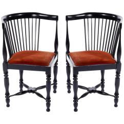 Wooden Corner Chair Tattoo Client Adolf Loos Chairs F O Schmidt Velvet Wood Jugendstil 1898 1900