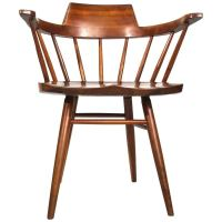 Pair of Arm Chairs by George Nakashima For Sale at 1stdibs