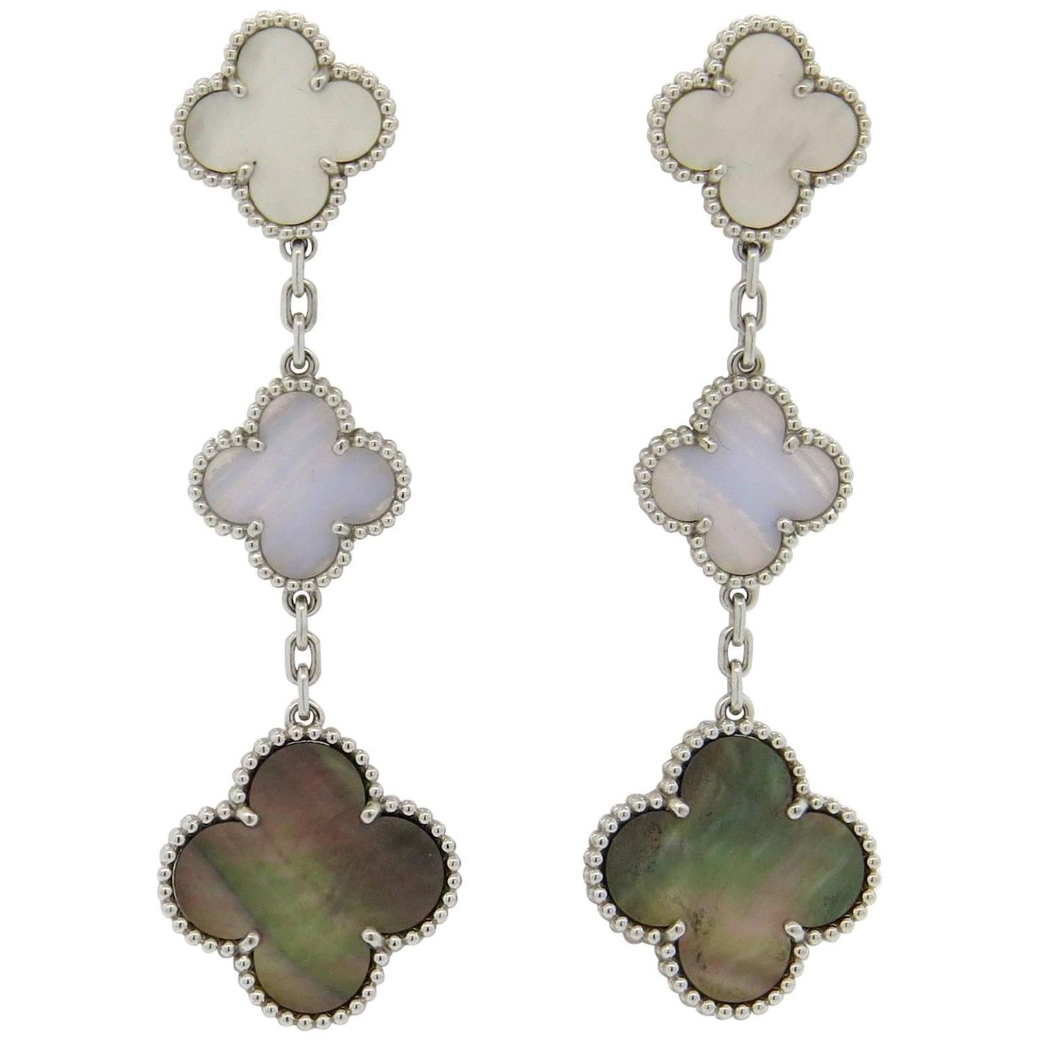 Van Cleef and Arpels Magic Alhambra Mother of Pearl