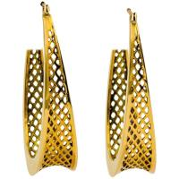 Ray Griffiths 18 Karat Gold Hoop Earring at 1stdibs