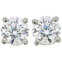 Tiffany and Co. E-VS1-VVS2 3xEX 4.63 carats Diamond Studs ...