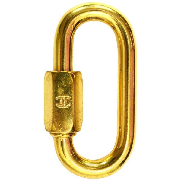 Chanel Gold Carabiner Lock 1stdibs