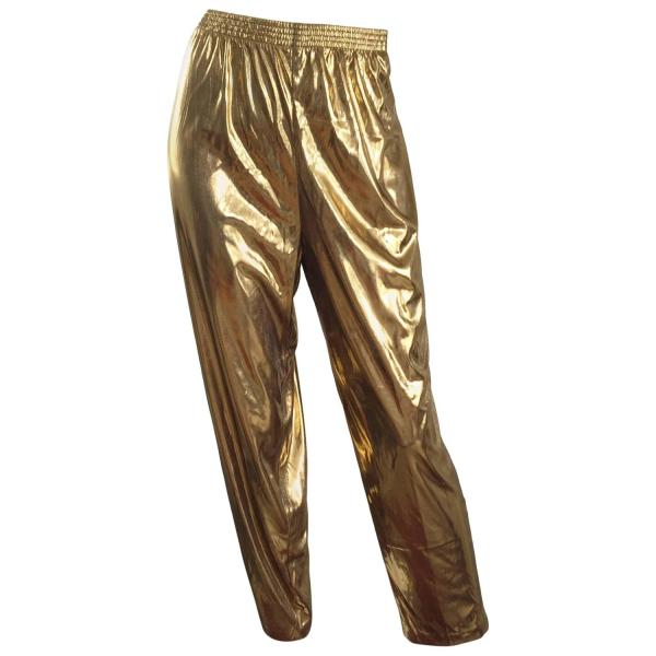 Awesome 1980s Gold Lame Vintage 80s Metallic Trousers