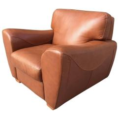 Leather Chairs For Sale Discount Chair Covers Oversize Italian Club At 1stdibs