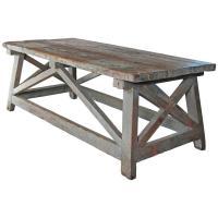 """Sculpture's Table"" Vintage Farmhouse Style as Work Table ..."