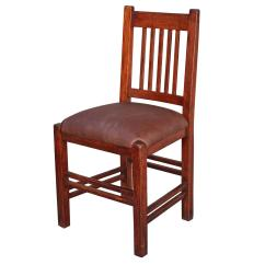 Arts And Crafts Chairs What Are Plastic Made Out Of Side Chair With Spindles For Sale At 1stdibs