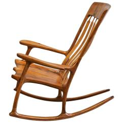 Sam Maloof Rocking Chair Plans Hal Taylor Canyon Swing New Zealand Landon Sanborn Velvet Mesquite